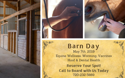 Board with Us Today to Reserve a Spot on Barn Day!